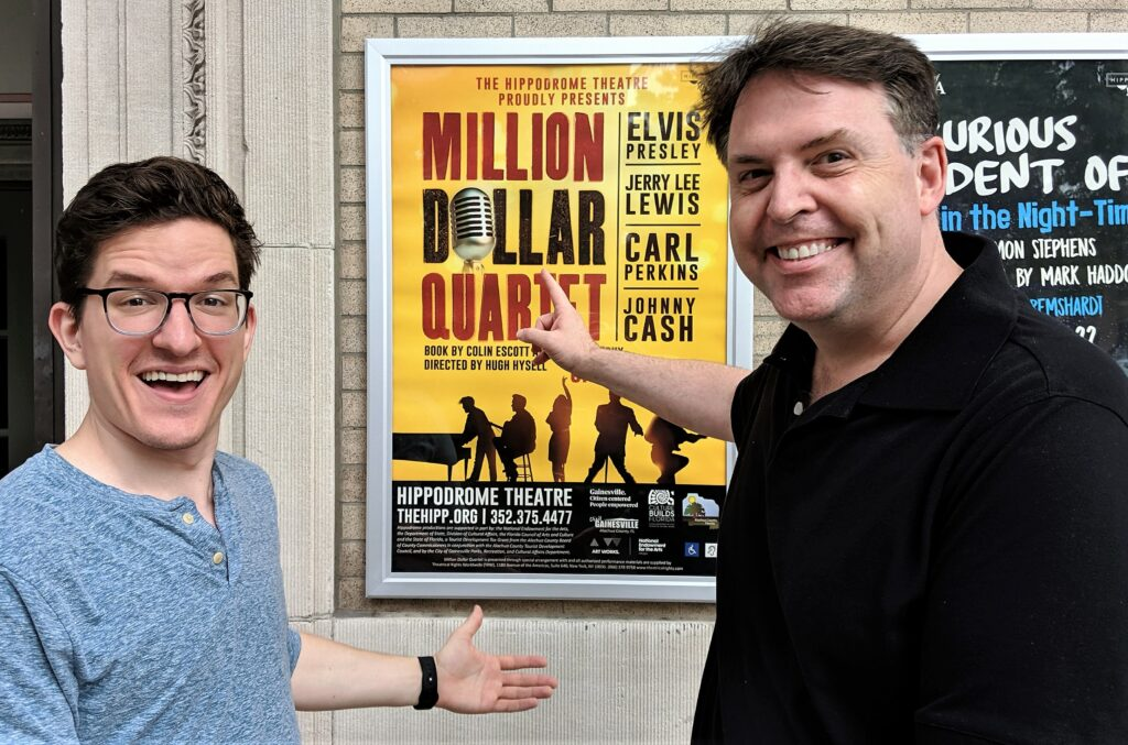 Smash Hit 'Million Dollar Quartet' Welcomes Its Newest Cast